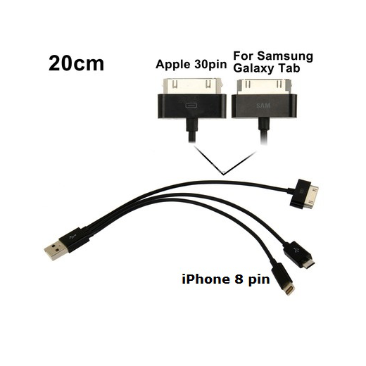 Переходник USB Орбита TS-3140 (Apple iPad, microUSB)