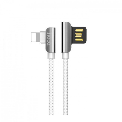 Кабель USB 2.4А HOCO U42 (iOS Lighting) 1.2м